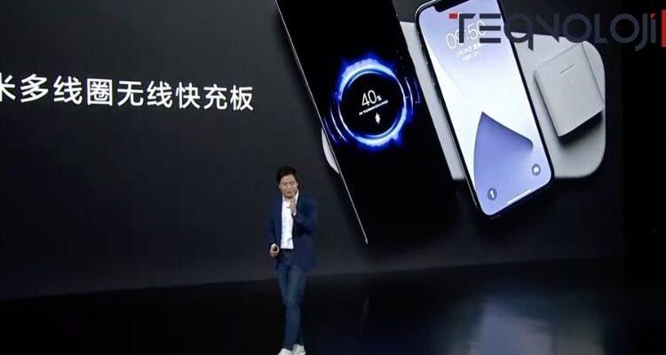 Xiaomi AirPower Benzeri Kablosuz Şarj Cihazı